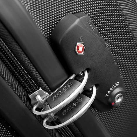 bagage cabine valise spinner 4 roulettes 55 cm american. Black Bedroom Furniture Sets. Home Design Ideas