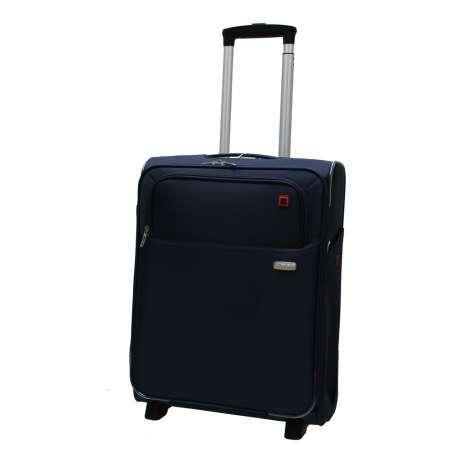 bagage cabine valise trolley 55 cm american tourister atlanta bleu valises voyage. Black Bedroom Furniture Sets. Home Design Ideas