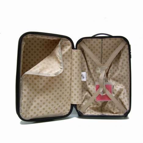 bagage cabine valise trolley expansible 2 roulettes 52 cm. Black Bedroom Furniture Sets. Home Design Ideas