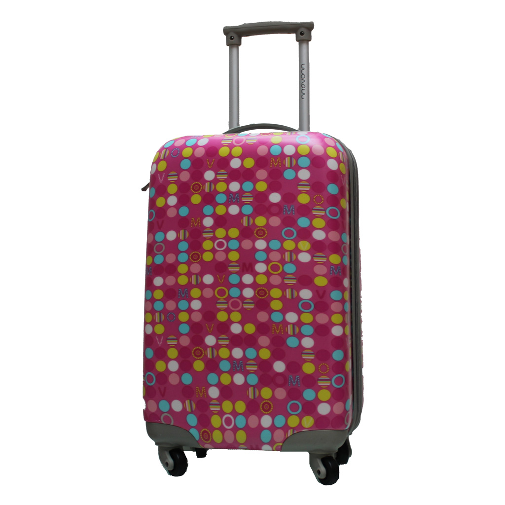 valise movom 55 cm rose valises voyage. Black Bedroom Furniture Sets. Home Design Ideas