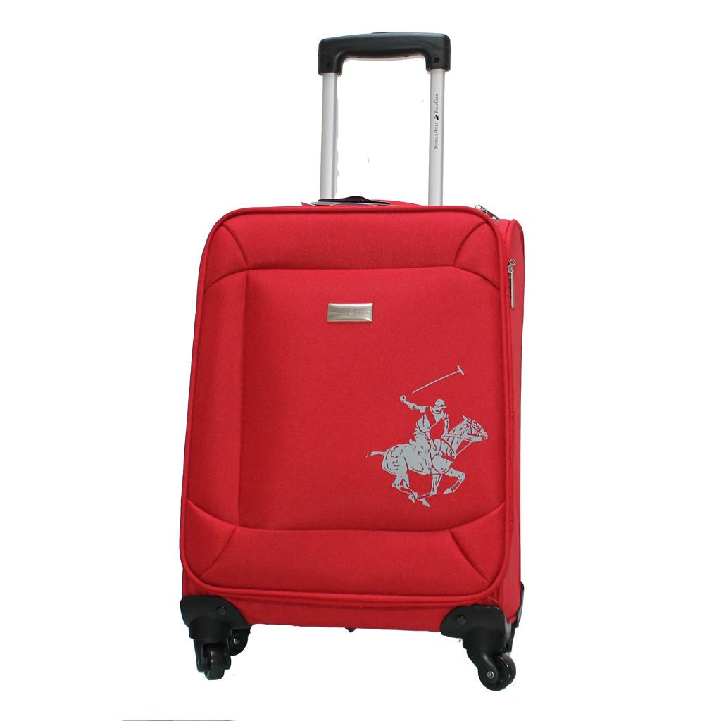 valise polo club 55 cm rouge valises voyage. Black Bedroom Furniture Sets. Home Design Ideas