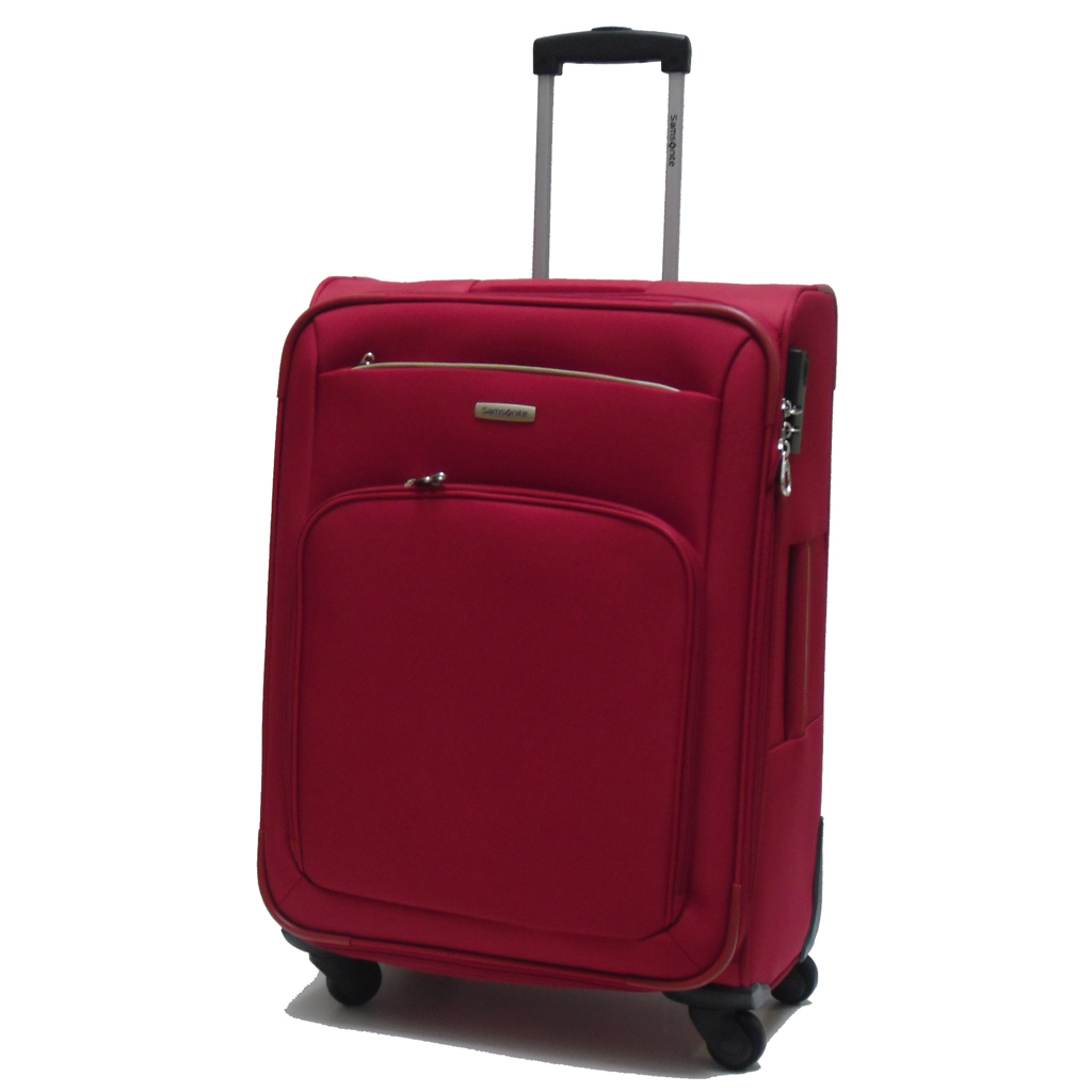 valise spinner expansible 65 cm rouge samsonite atolas valises voyage. Black Bedroom Furniture Sets. Home Design Ideas
