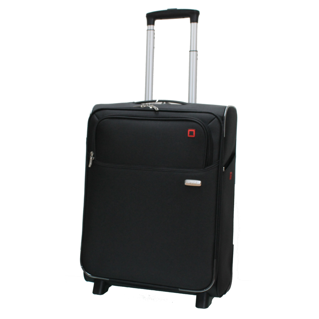 bagage cabine valise trolley 55 cm american tourister atlanta noir valises voyage. Black Bedroom Furniture Sets. Home Design Ideas