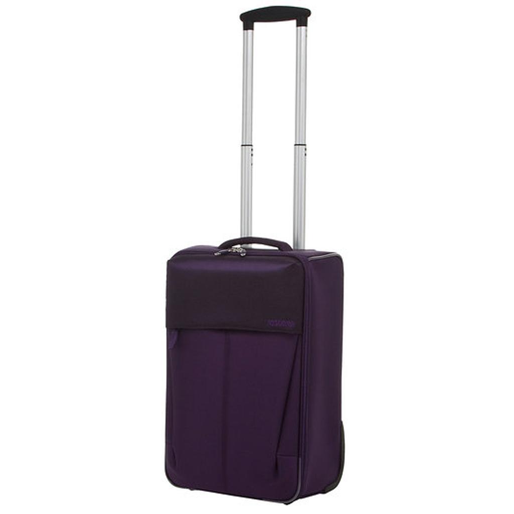 bagage cabine valise trolley 55 cm american tourister genoa violet valises voyage. Black Bedroom Furniture Sets. Home Design Ideas