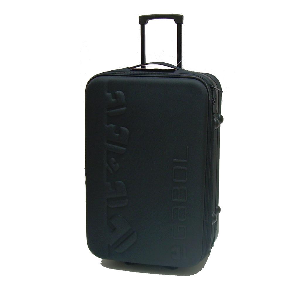 valise trolley extensible 62 cm noire valises voyage. Black Bedroom Furniture Sets. Home Design Ideas