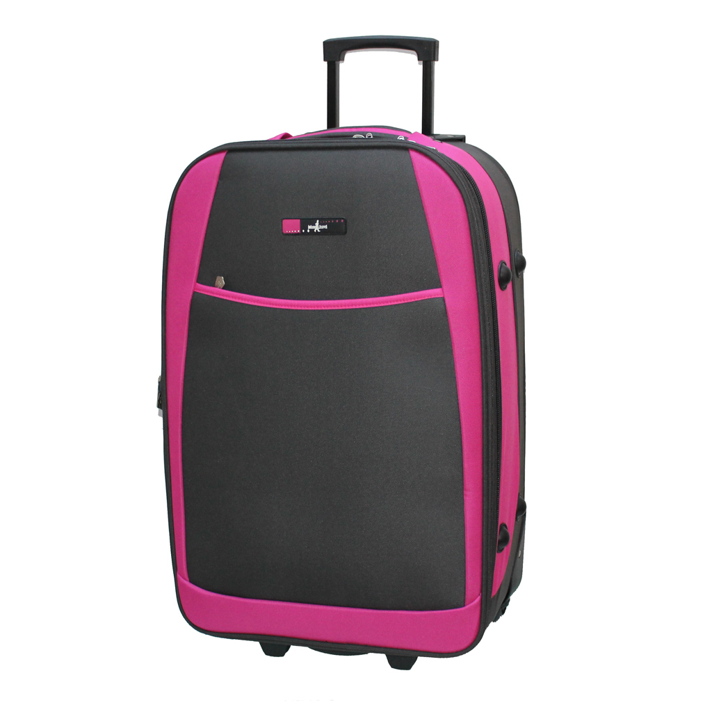 valise john travel nedder 64 cm fuchsia valises voyage. Black Bedroom Furniture Sets. Home Design Ideas
