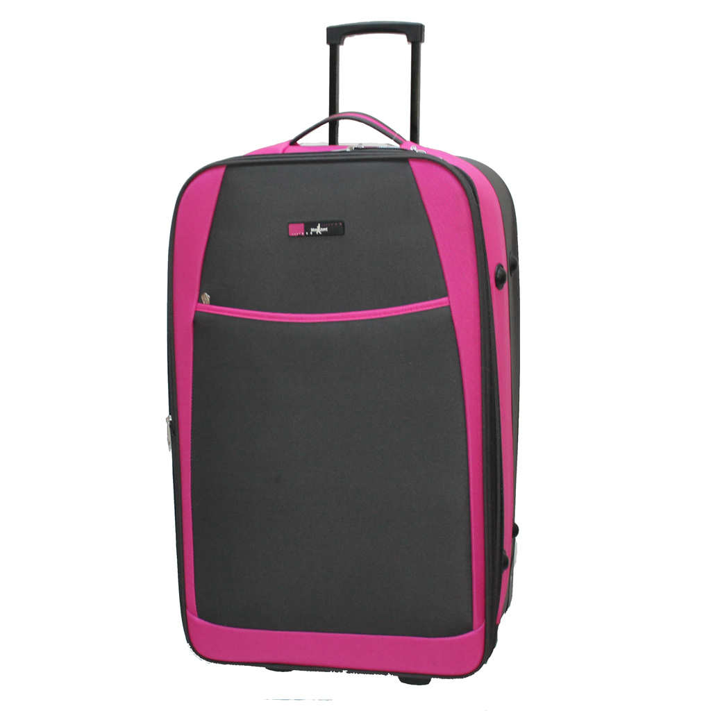 valise john travel nedder 76 cm fuchsia valises voyage. Black Bedroom Furniture Sets. Home Design Ideas