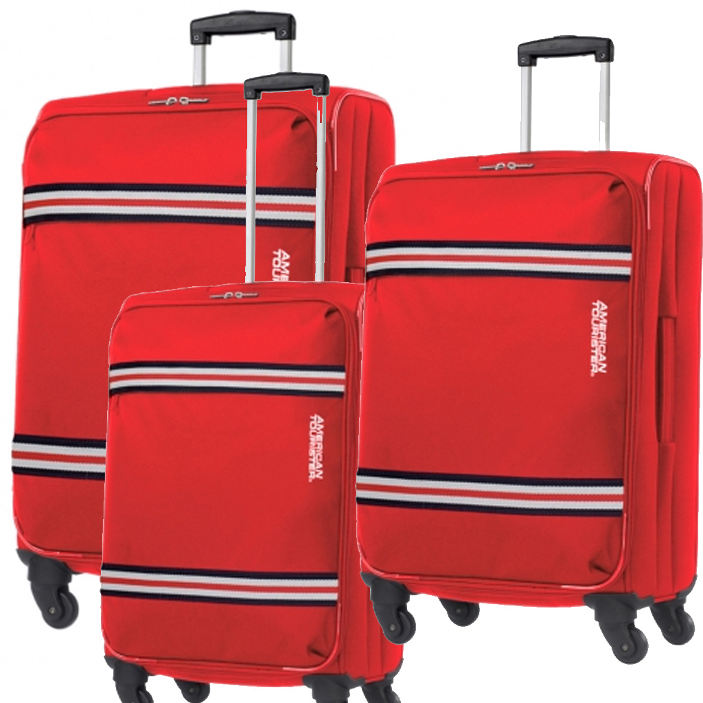 Set Valises American Tourister Berkeley Spirit 42/42/42 Cm, Rouge ... - Valise Rouge