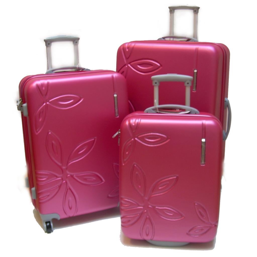 des ensembles des valise trolley 53 cm spinner 67 77 cmts gabol coco valises voyage. Black Bedroom Furniture Sets. Home Design Ideas
