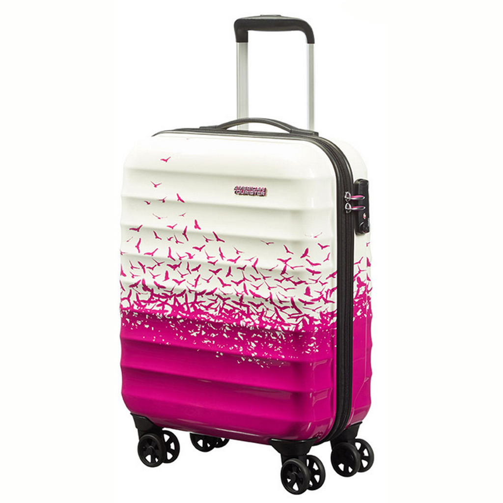 valise american tourister appropri comme bagages de cabine ryanair valises voyage. Black Bedroom Furniture Sets. Home Design Ideas