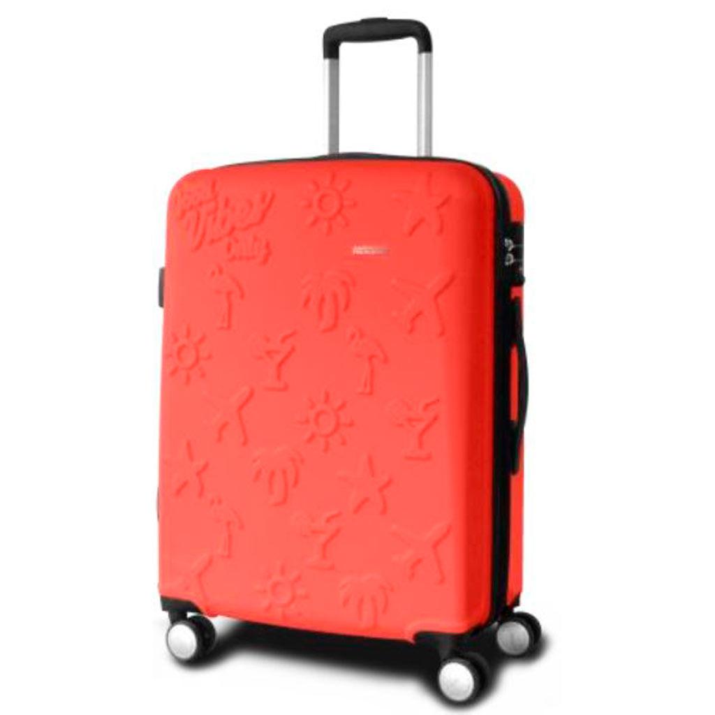 valise cabine american tourister good vibes 55 cm valises voyage. Black Bedroom Furniture Sets. Home Design Ideas